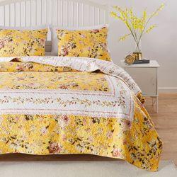 Finley Mini Quilt Set Yellow