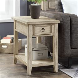 Sawyer Place Chairside Table Cream