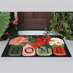 Holiday Home Rectangle Mat Black