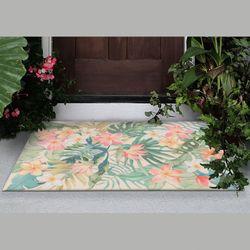 Paradise Pastel Rectangle Mat Multi Pastel 49 x 29