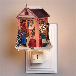 Santas Workshop Nightlight Multi Warm