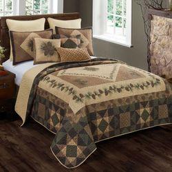 Antique Pine Mini Quilt Set Multi Warm