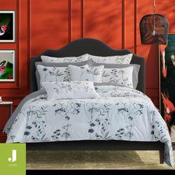 Bridget Gray Mini Comforter Set