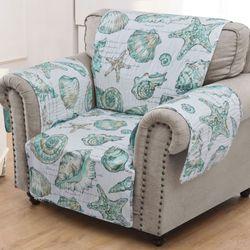 Cruz Furniture Cover Turquoise Armchair