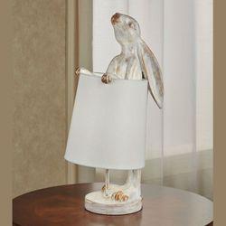 Beatrix Bunny Accent Table Lamp Copper