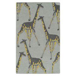 Melman Giraffe Rectangle Rug