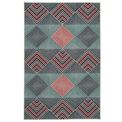 Alessi Rectangle Rug Navy
