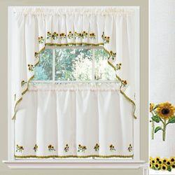 Suntastic Window Treatment Set Light Cream