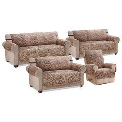Amala Plush Furniture Protector Brown Recliner
