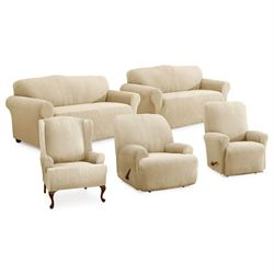 Kenwood Stretch Slipcover Wing Chair