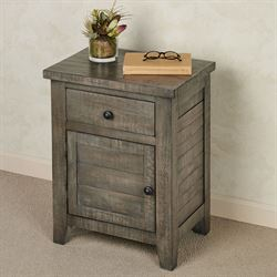 Franklin Side Table Gray