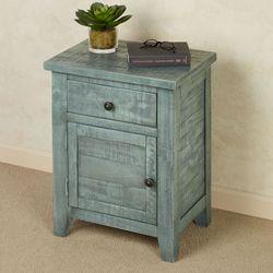 Franklin Side Table Light Blue
