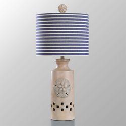 Rowan Table Lamp Denim