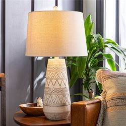 Imelde Table Lamp Beige