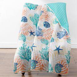 Montego Throw Blanket Multi Cool 50 x 60