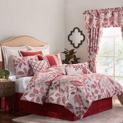 Savoy Red Comforter Set