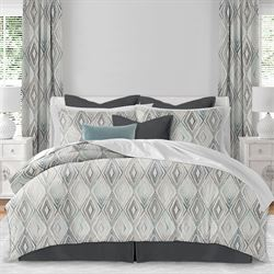 Avianna Mini Comforter Set Gray