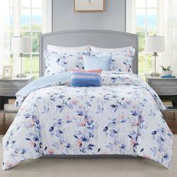Betsy Comforter Bed Set Blue