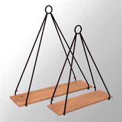 Triangle Wall Shelves Set of Two