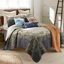 Pine Boughs Mini Quilt Set Multi Warm