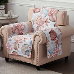 Beach Days Furniture Cover White Armchair