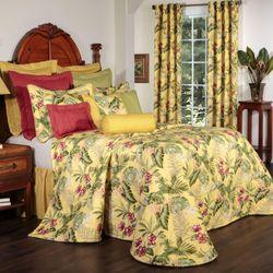 Fern Gully Bedspread Yellow