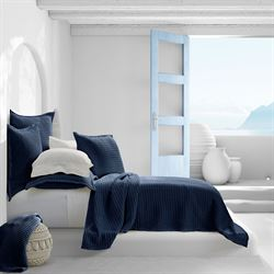 Pebble Beach Solid Color Coverlet