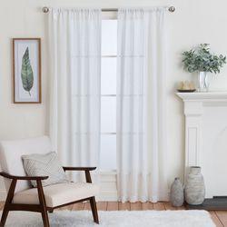Isola Semi Sheer Curtain Panel