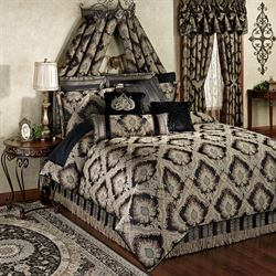 Fenmore Comforter Set Black