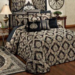 Fenmore Grande Bedspread Black