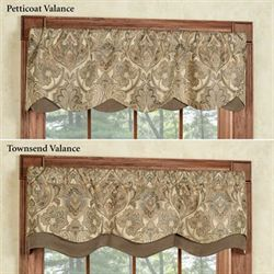 Hollyhock Gold Petticoat Valance 52 x 15