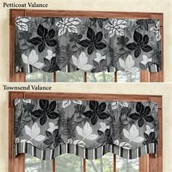 Maple Leaf Platinum Gray Petticoat Valance 52 x 15