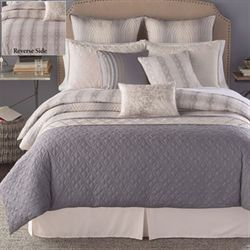 Sahara Reversible Comforter Bed Set Gray