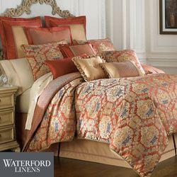 Olympia Comforter Set Paprika