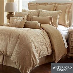 Lynath Comforter Set Gold