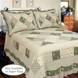 Country Charm Quilt Sage