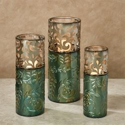 Natures Triumph Vases Multi Jewel Set of Three