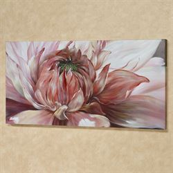 Brilliant Bloom Canvas Wall Art Pink