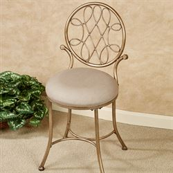 Bedelia Vanity Chair Gold/Bronze