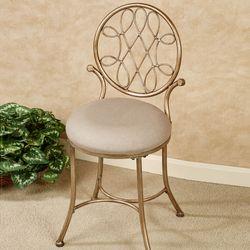 Bedelia Vanity Chair Gold/Bronze
