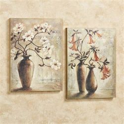 Orient Dreams Wall Art Multi Earth Set of Two