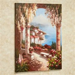 Seaside Splendor Canvas Art Multi Warm
