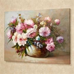Potted Beauties Canvas Art Multi Pastel