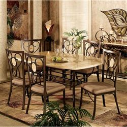 Eastbrook Dining Set of 5 Bronze Set of Five