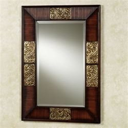Sarantino Asian Wall Mirror