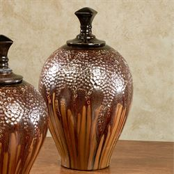 Golden Opulence Vase Large Multi Warm