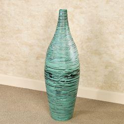 Jubilenta Floor Vase Teal