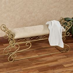 Gianna Bench Venetian Gold
