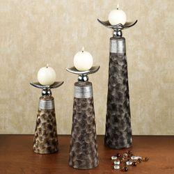 Brockden Candleholder Set Multi Set of Three