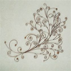 Willow Wisp Metal Wall Sculpture
